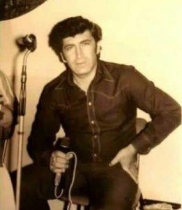 """Певец Борис Давидян (Бока), 1970-е годы. Именно с его именем связана всесоюзная популярность песни """"Доля воровская""""."""