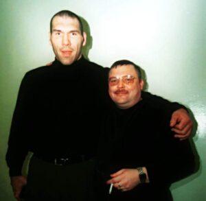Михаил Круг и Николай Валуев.