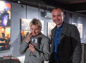 С Михаилом Барышниковым на открытии выставки его фотографий. Торонто, 17.09.2021.